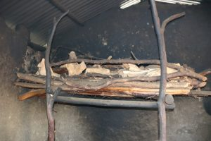 The Water Project:  Firewood In The Kitchen