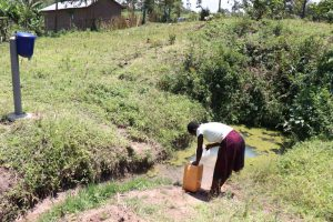 The Water Project:  Mildred Fetching Water