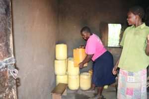 The Water Project:  Setting Down Their Containers With Water