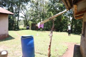The Water Project:  The Rainwater Harvesting Setup