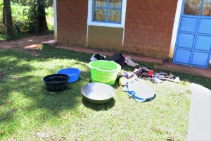 The Water Project:  Clothes Laid Out For Washing