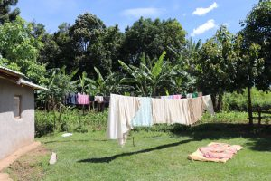 The Water Project:  Clothes Aired Out To Dry