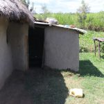 The Water Project: Kalenda A Community, Moro Spring -  Goat Shed
