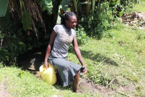 The Water Project:  Juliet Leaving The Spring