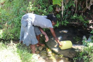 The Water Project:  Juliet Fetching Water