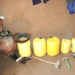 The Water Project: Kalenda A Community, Moro Spring -  Water Storage Containers