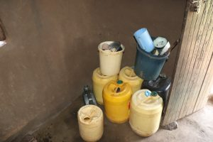 The Water Project:  Water Storage Containes