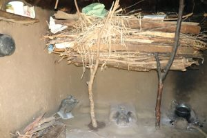 The Water Project:  Firewood Drying Over Cookstove