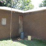 The Water Project: Kalenda A Community, Moro Spring -  Tiny Rainwater Harvesting System