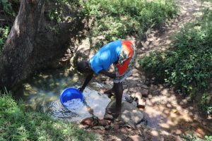 The Water Project:  Sharon Fetching Water