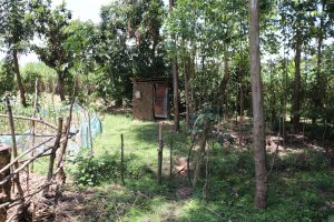 The Water Project:  Latrine With Handwashing Station In The Distance