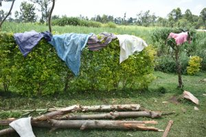 The Water Project:  Clothes Out Drying