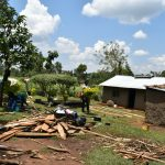 The Water Project: Shihome Community, Oloo Njinuli Spring -  Homestead