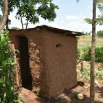 The Water Project: Shihome Community, Oloo Njinuli Spring -  Traditional Latrine