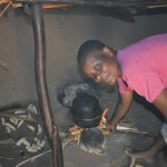The Water Project: Shianda Commnity, Mukeya Spring -  Ruth Cooking