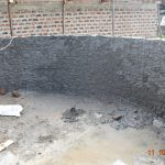The Water Project: Makunga Secondary School -  Interior Cement Underway
