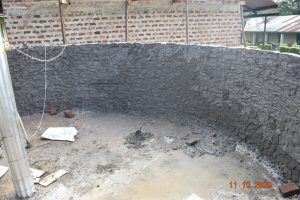 The Water Project:  Interior Cement Underway