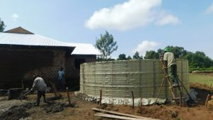 The Water Project:  Tank Takes Shape