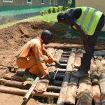 The Water Project: Makunga Secondary School -  Latrine Foundation Work