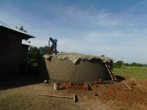The Water Project:  Construction Of Dome