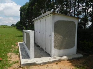 The Water Project:  Complete Vip Latrine Block