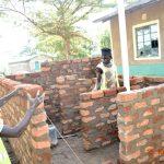 The Water Project: Makunga Secondary School -  Latrine Stalls Take Shape