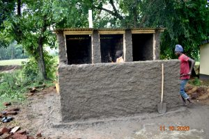 The Water Project:  Cementing New Latrines
