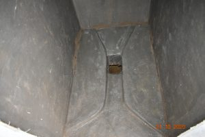 The Water Project:  Inside Platform Of A New Latrine