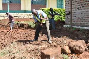The Water Project:  Rain Tank Site Excavation