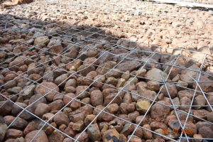 The Water Project:  Rock And Rebar Foundation
