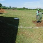 The Water Project: ACK St. Peter's Khabakaya Secondary School -  Rain Tank Ground Breaking