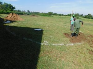 The Water Project:  Rain Tank Ground Breaking