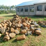 The Water Project: ACK St. Peter's Khabakaya Secondary School -  Construction Materials Ready