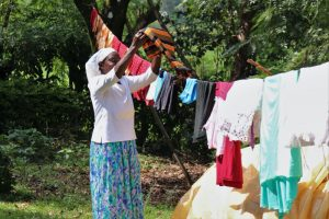 The Water Project:  Airing Clothes To Dry