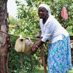 The Water Project: Shilakaya Community, Shanamwevo Spring -  Washing Her Hands