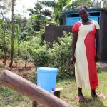 The Water Project: Emulakha Community, Alukoye Spring -  Next To Her Handwashing Station