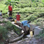 The Water Project: Eshiasuli Community, Eshiasuli Spring -  At The Spring