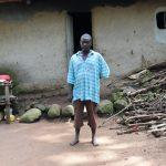 The Water Project: Eshiasuli Community, Eshiasuli Spring -  Mr Indayi In Front Of His House