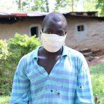 The Water Project: Eshiasuli Community, Eshiasuli Spring -  Silas With His Mask On