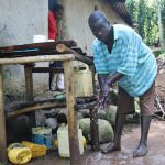 The Water Project: Eshiasuli Community, Eshiasuli Spring -  Silas Handwashing At Home