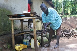 The Water Project:  Silas Handwashing At Home