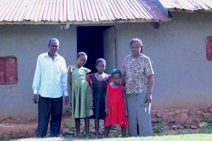 The Water Project:  Adelide With Her Family At Home