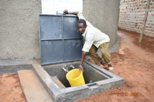 The Water Project:  Collecting Water For Curing The Tank