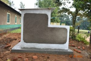 The Water Project:  Side View Of Latrines
