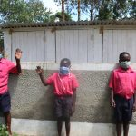 The Water Project: Jinjini Friends Primary School -  Boys At The Latrines