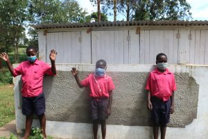 The Water Project:  Boys At The Latrines
