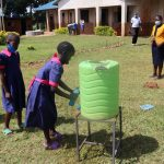 The Water Project: Jinjini Friends Primary School -  Handwashing Demonstrations