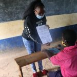 The Water Project: Jinjini Friends Primary School -  Using Visual Aids At The Training