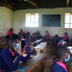 The Water Project: Jinjini Friends Primary School -  Pupils At The Training