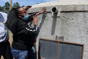 The Water Project:  Rain Tank Maintenance Training